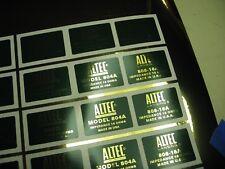 "ALTEC 804A Horn Loudspeaker Driver  ""DECAL"" New!"