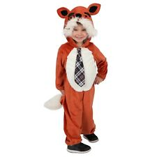 Quick the Fox Child Costume Size XS 4 NEW