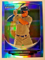AARON JUDGE 2013 Bowman Chrome Draft REFRACTOR #19 Yankees Rookie Card RC QTY