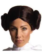 Star Wars Princess Leia Brown Buns Adult Womens Costume Wig