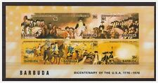 0511 Barbuda 1976 Bicentanery of the Usa S/S Mnh imperf