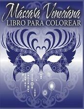Mascara Veneciana Libro para Colorear by Avon Coloring Books (2015, Paperback)