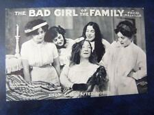 The Bad Girl Of The Family  - Music Hall Theatrical History Radio Film
