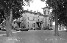 Algona Iowa~Italianate Courthouse~Richardson Furniture~Fire Station RPPC 1940s