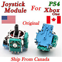 2X Original Replacement Analog Joystick Module For Sony PS4 Xbox One Controller