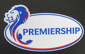 OFFCIAL 2020 2021 SCOTTISH PREMIER RANGERS SLEEVE PATCH = PLAYER SIZE