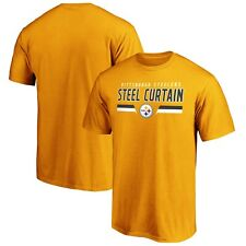 🏈 NFL Pittsburgh Steelers Men's Steel Curtain Shirt Size M NWT 🏈