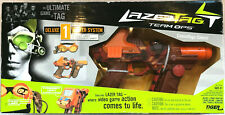 Tiger Lazer Tag Team OPS Tag Master Deluxe 1 Player System Orange Camouflage