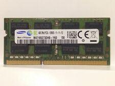 Samsung 4GB 2Rx8 PC3L-12800S DDR3 1600MHz SO-DIMM M471B5273DH0-YK0
