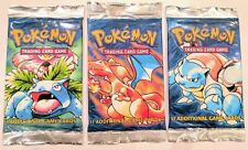 Pokemon Base Set Booster Pack (Unweighed)