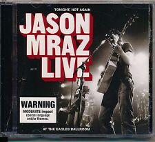 Jason Mraz - Tonight,Not Again: Live at the CD ( VGC)