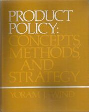 Product Policy: Concepts, Methods and Strategy (Addison-Wes... by Wind, Yoram J.