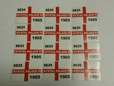 Crystal Palace FC Flag Stickers - SE25 - Sticker Set - CPFC - Lot of 12