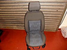FORD FIESTA MK6 05-08 PASSENGER SIDE FRONT SEAT WITH AIRBAG  5 DOOR MODELS