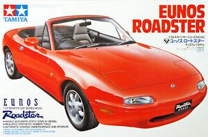 1:24 Scale Tamiya Mazda MX5 Eunos Roadster Mk1 Model Kit #1231P