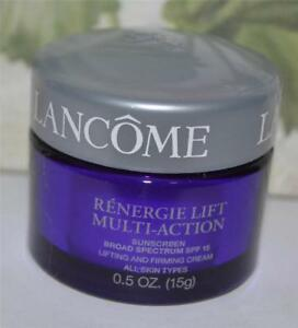 LANCOME Renergie Lift Multi-Action Sunscreen Lifting and Firming Cream .5 OZ