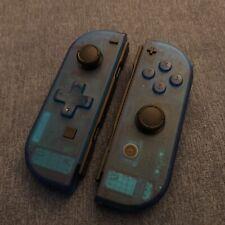 Nintendo Switch Joy Con Controller PAIR CUSTOM COLOUR with D-PAD -  DEEP BLUE