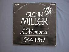 "LP 12"" 33 rpm 1970 2 LPs GLENN MILLER A MEMORIAL 1944-1969 - RCA XPRM 4641 UK"