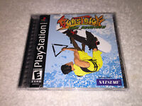 BursTrick Wake Boarding (Sony PlayStation 1, 2001) PS1 Black Label Complete Exc!