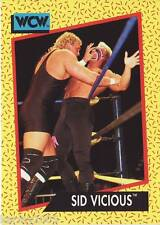 1991 WCW/WWE Impel #28 Sycho Sid Justice Vicious near mint