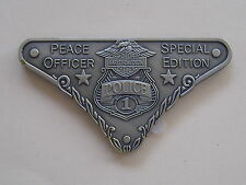 Harley Peace OFFICER MEDALLION 'Special Edition'.. #1 ..SPECIAL Limited Edition