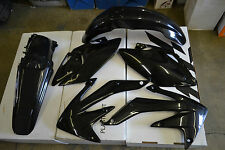 RACE TECH PLASTIC KIT HONDA CRF450X   2008-2016  SHROUDS  FENDERS PLATES BLACK