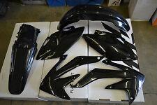 RACE TECH PLASTIC KIT HONDA CRF450X   2005-2007  SHROUDS  FENDERS PLATES BLACK