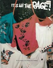 It's All the Rage Fabric Painting published by The Oil Rig Vintage 1989 Pittman