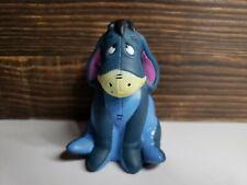 Vintage Disney Eeyore 3 Inch Rubber Toy Squeaker Toy