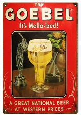 Geobel It's Mello-ized Bar And Restaurant Beer Sign