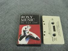 Roxy Music the high road - Cassette Tape