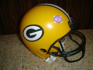 Child Toy Franklin Green Bay Packers Youth Size Football Helmet For Costume  AA