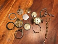 And Misc Pocket Watch Parts (Dy) Vintage Capezio Pocket Watch for Restoration
