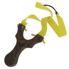Powerful Catapult Handmade Wooden Slingshot Hunting Practice Games Sling Shot