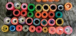 Vintage New Quad Roller Skate Wheels 35 Total Hyper Kryptonics Chaos Wicked Lips