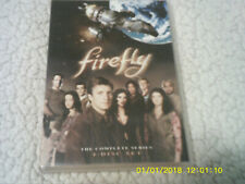Firefly The Complete Series Dvd 2009 4-Disc Set Tv Mint Condition Sci-Fi Whedon