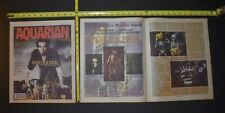 Voltaire 1997 2Pc Color Cover/Interview Lot No He Doesn't Worship Satan