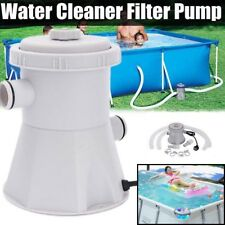 220V 15W Above Ground Swimming Pool Water Cleaner Filter Pump Electric HS-630