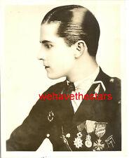 Vintage Ramon Novarro HANDSOME PROFILE 20s DBW Publicity Portrait by HOOVER