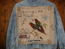 Fantastic Camel Road Grandma Funk Denim Jacket  -  Size XL  picture quirky diffe