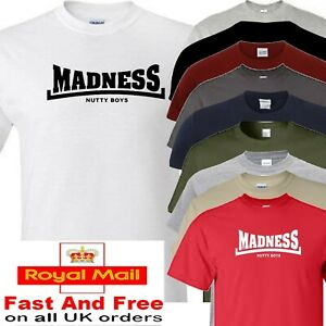 madness nutty boys t shirt