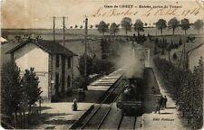 CPA Gare de Chezy-Entrée, sortie du Tunnel (267684)