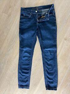 MAC DREAM SKINNY mid blue authentic wash Damen Jeans (W27/L30)