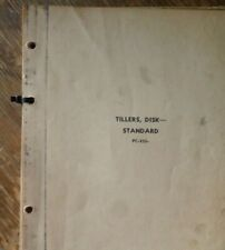 John Deere 400B-H 470B-H Standard Disk Tiller Parts Catalog Manual Pc-255
