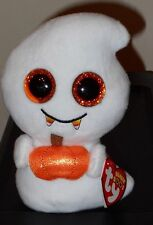 "Ty Beanie Boos ~ SCREAM the 6"" Halloween Ghost ~ 2017 NEW w/ MINT TAGS ~ IN HAND"