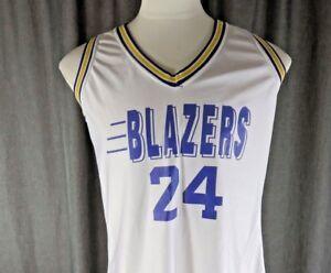 Vintage Lady Champion Portland Trailblazers Blazers #24 Jersey Shirt 14 USA