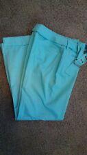 NWT Larry Levine SPT Watercolor Womens Stretch Pants Size 8