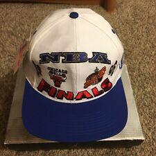 Vintage 90s 1996 NBA Finals Chicago Bulls VS Seattle Super Sonics Snapback Hat