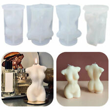 Human Body Silicone Candle Mold Female Perfume Candle Making Wax Mould Soap Mold