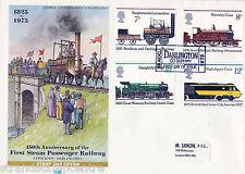 "1975 ferrocarriles-philart-Darlington ""ticket"" gomígrafo"